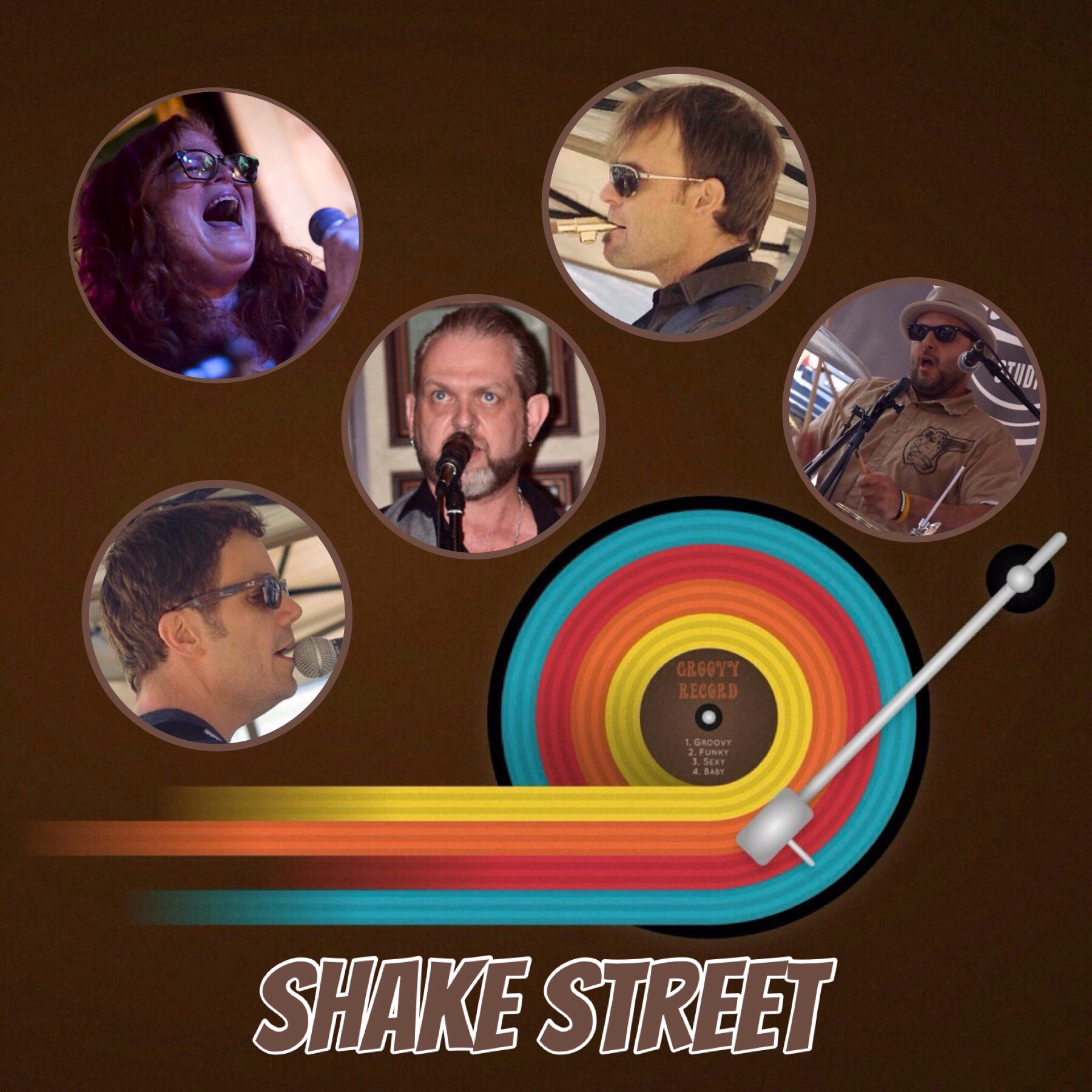 Cover photo for shakestreet band